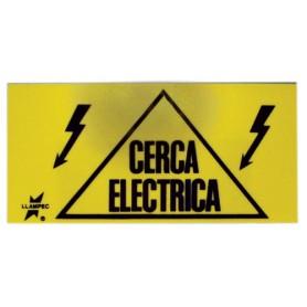 Letrero Indicador Cerca Eléctrica