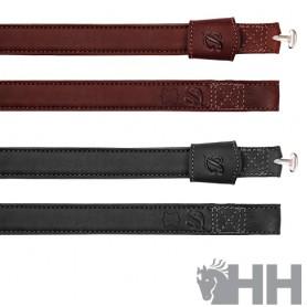 Acion Estribo Bates Cuero Luxe Leather Sin Hebillas (Par)