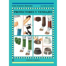Libro Guías Ecuestres Ilustradas Protectores Y Vendajes