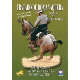 Dvd Tratado De Doma Vaquera Cómo Juzgar Un Campeonato De España De Doma Vaquera