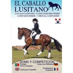 Dvd El Caballo Lusitano Doma Y Competición