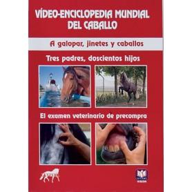 Dvd Vídeo-Enciclopedia Mundial Del Caballo A Galopar, Jinetes Y Caballos. Tres Padres, Doscientos Hi