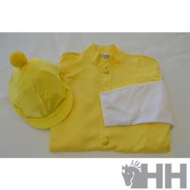 Camisa Jockey Y Funda Casco Ornella Prosperi Varios Colores