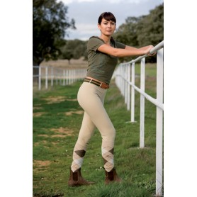 Pantalon Cotton Naturals Professional Fino Mujer