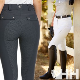 Pantalon Ariat Tri Factor Grip Full Seat Mujer