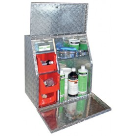 Caja Limpieza Lehmann Travelbox Aluminio