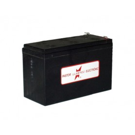 Batería Recargable Llampec 12 Vol.7,2 Ah Para Pastor Eléctrico