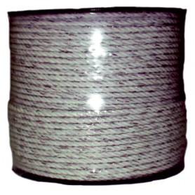 Cuerda Cerca Electrica Llampec (Bobina 200 M.) 2 Hilos Conductores