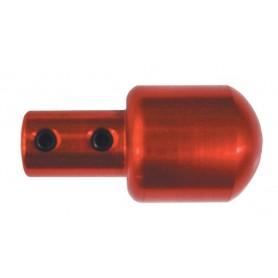 Mango Escofina Aluminio Rojo