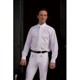 Camisa Febel Andorra Hombre Manga Corta Cuello Blanco