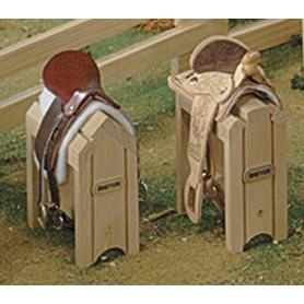 Breyer 281 - Wood Saddle Stand (Caballete Silla De Madera) - Colección Traditional