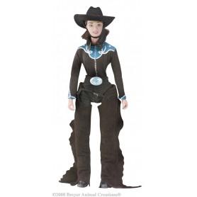 Breyer 529 - Kylie, Cowgirl (Figura Cowboy Mujer) - Colección Traditional