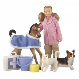 Breyer 61036/591045 - Animal Rescue Set (Veterinaria) - Colección Classics
