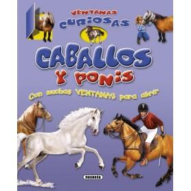 Libro Caballos Y Ponis, Ventanas Curiosas