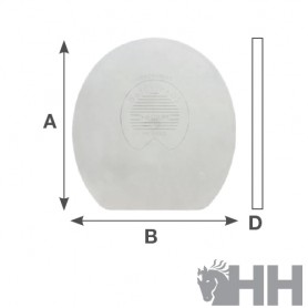 Tapa Plástico Kerckhaert Daily Pads Regular Blanda Plana (Par)